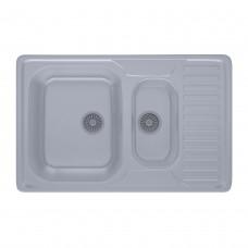 Мойка кухонная HB 7301 ZS Satin 08 (мойка 7850 нержавейка ULA)